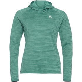 Odlo Millenium Element Hoody Women malachite green melange